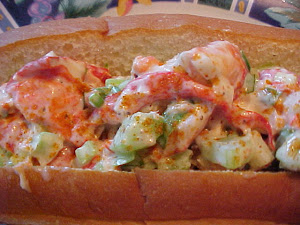 Lobster roll (sandwiche au homard)