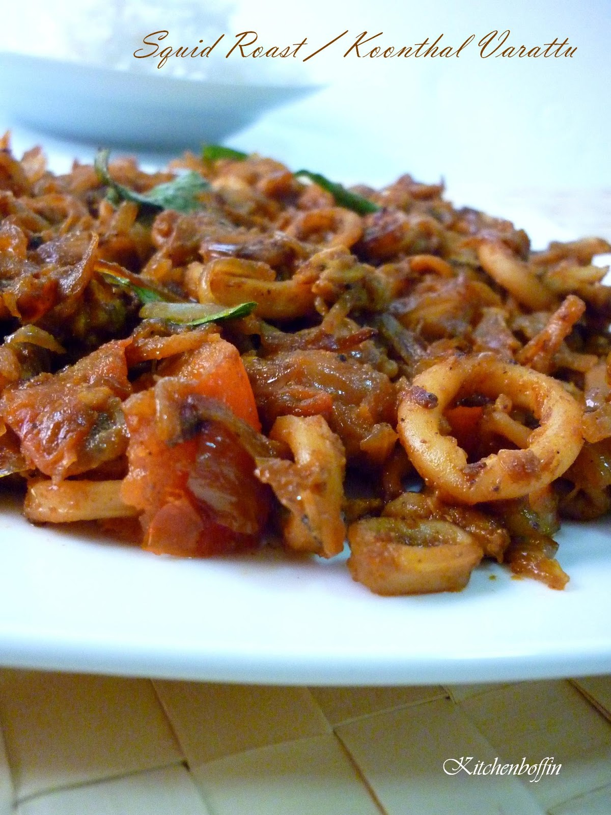 how to cook spicy squid