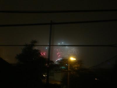 Thames River Fireworks 2013