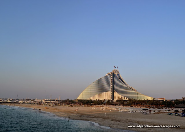 Jumeirah Beach Hotel from Burj Al Arab