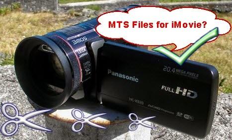 Edit Panasonic HC-X920 AVCHD in iMovie