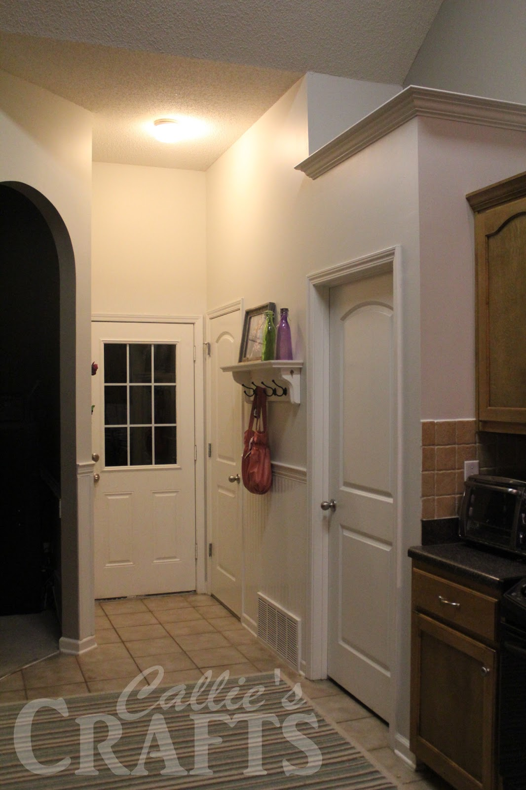 Kitchen Entryway Callies Crafts Mixin It Up In The Kitchen