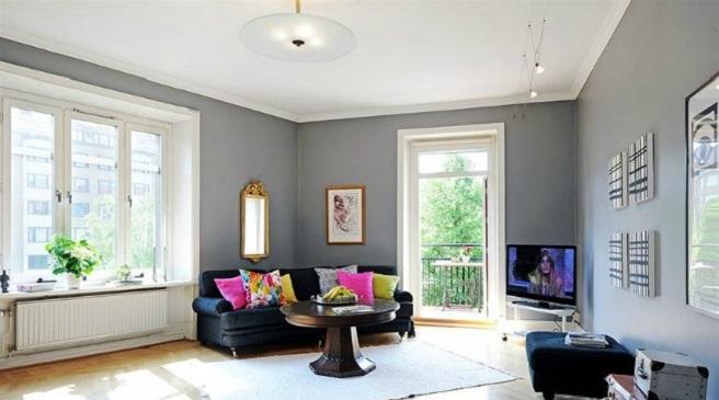 Bricolage e decora o pintar paredes de cores diferentes - Para pintar paredes ...