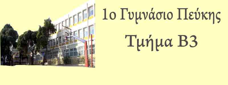 1o Γυμνάσιο Πεύκης Β3