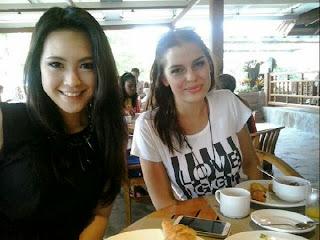 vania larissa6 Koleksi Foto Vania LARISSA Biodata 7 Besar Miss World 2013