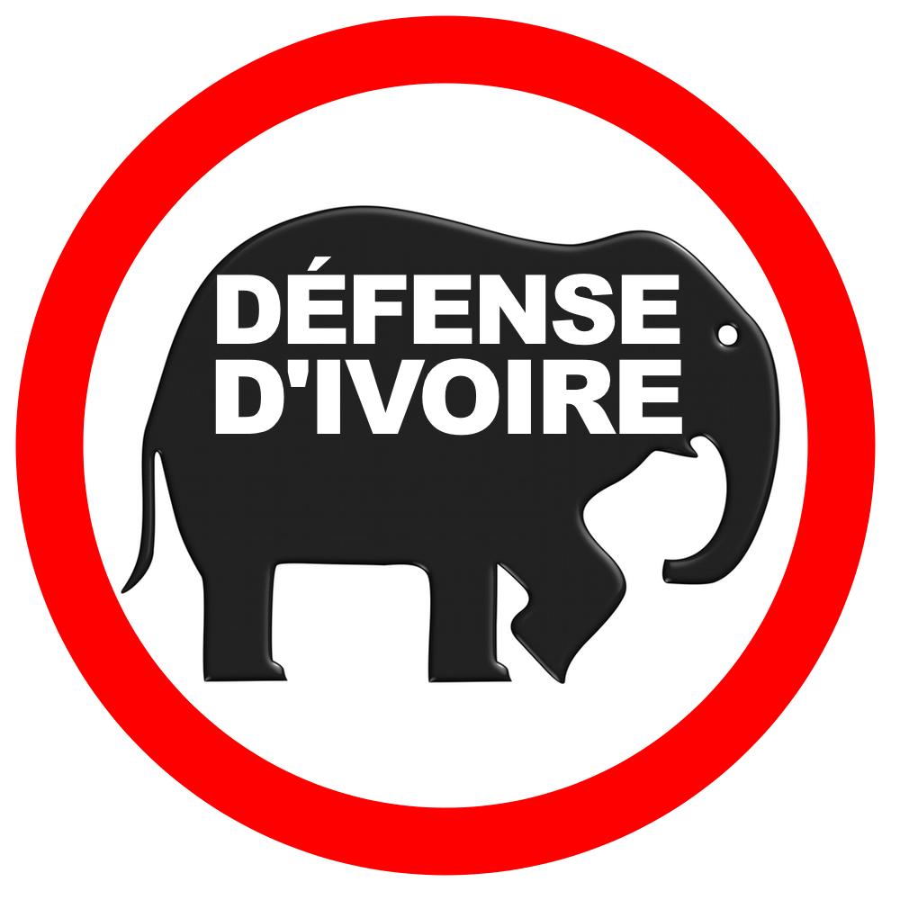 Logo à partager pour la défense des éléphants