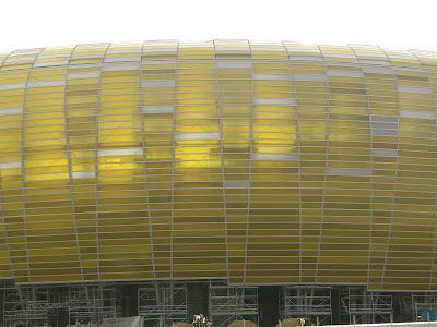 Płyty poliwęglanowe Baltic Arena