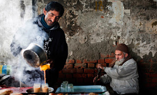 chai, himachal, road side, trip
