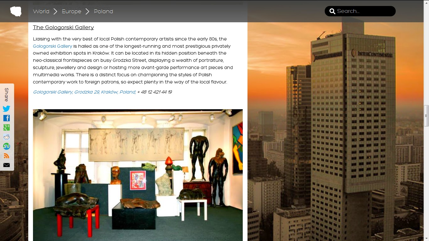 Gologorski Gallery Blog November - Best contemporary museums in us