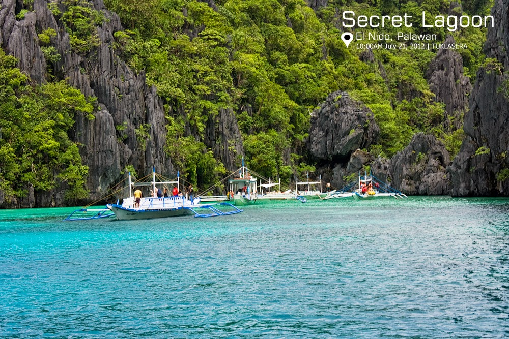 El Nido, Secret Lagoon