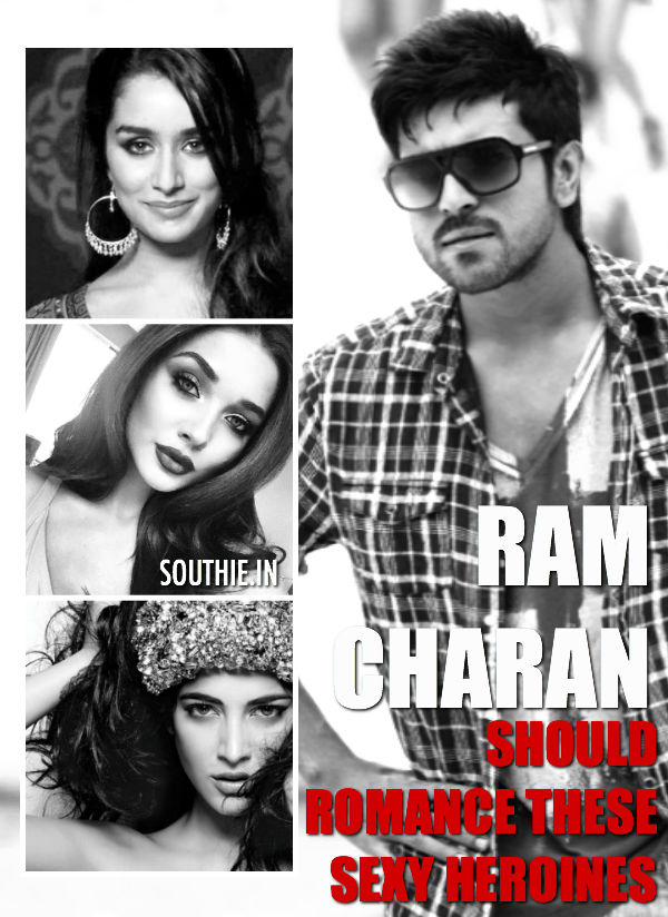 Ram Charan should romance these heroines very soon. Check out the Gallery of heroines that can rock the big screen opposite Ram Charan.