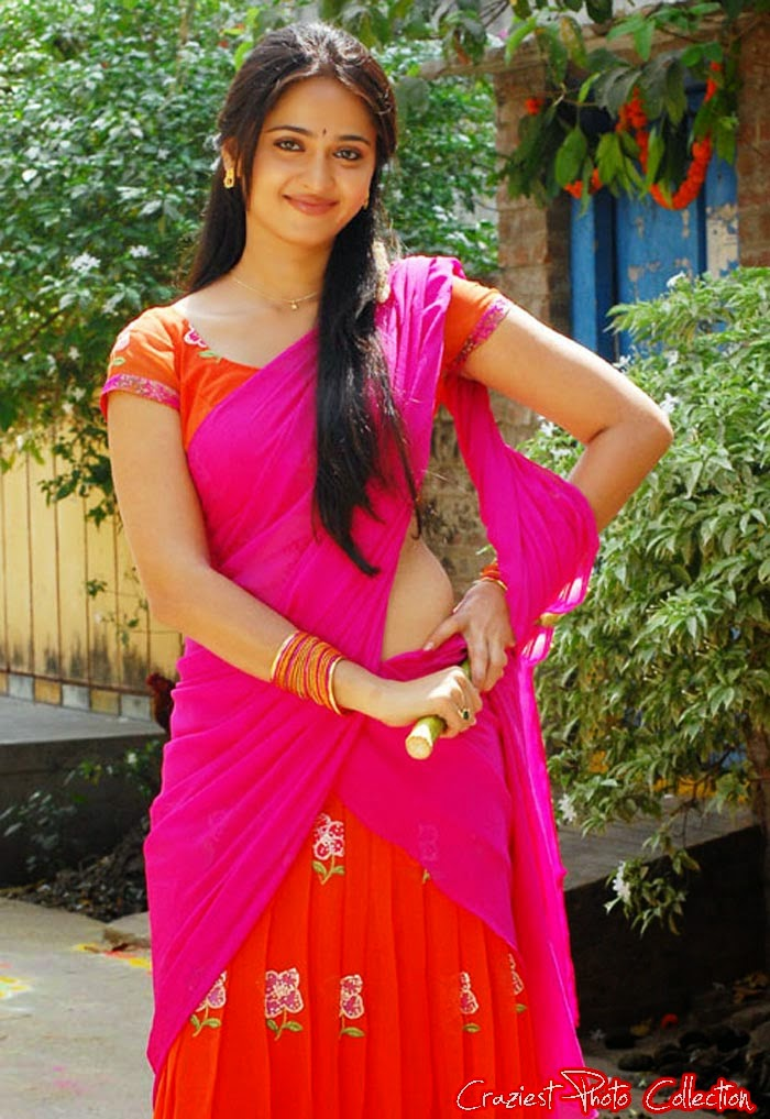 Hot South Indian Actresses in Half Saree