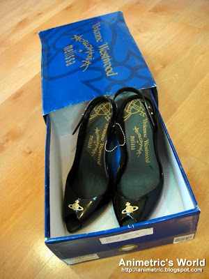 Vivienne Westwood Anglomania Melissa Shoes