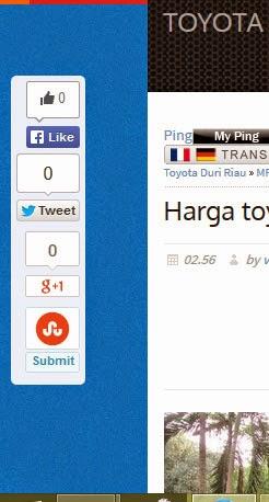 Membuat tombol Share melayang di sisi kanan Blog