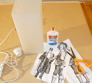 DIY Tischlampe: Ikea Grono verschönern