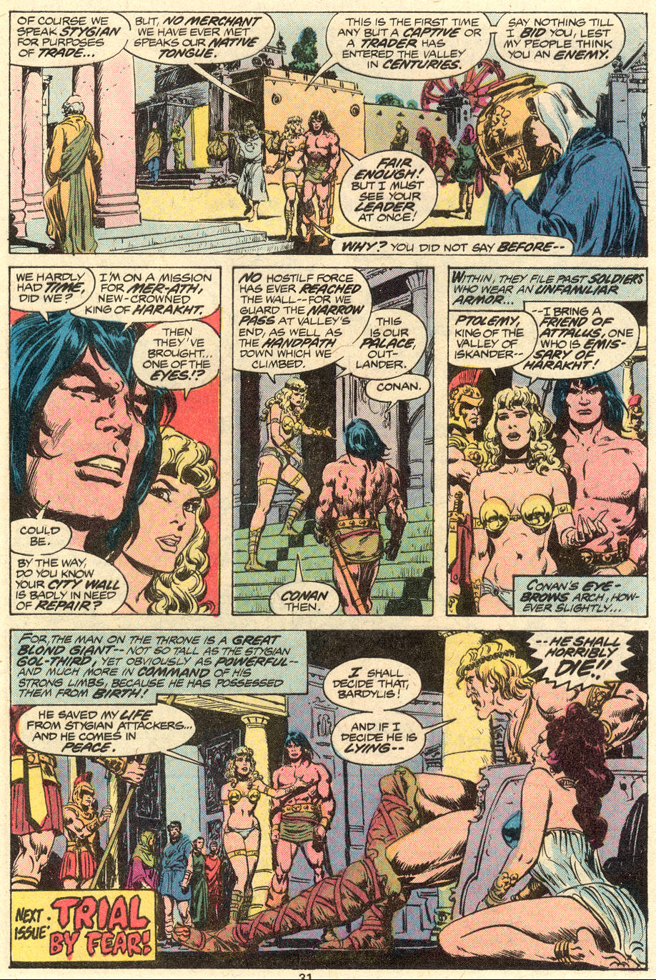 Conan the Barbarian (1970) Issue #79 #91 - English 18