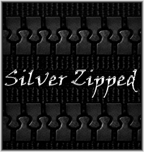 Silver Zipped