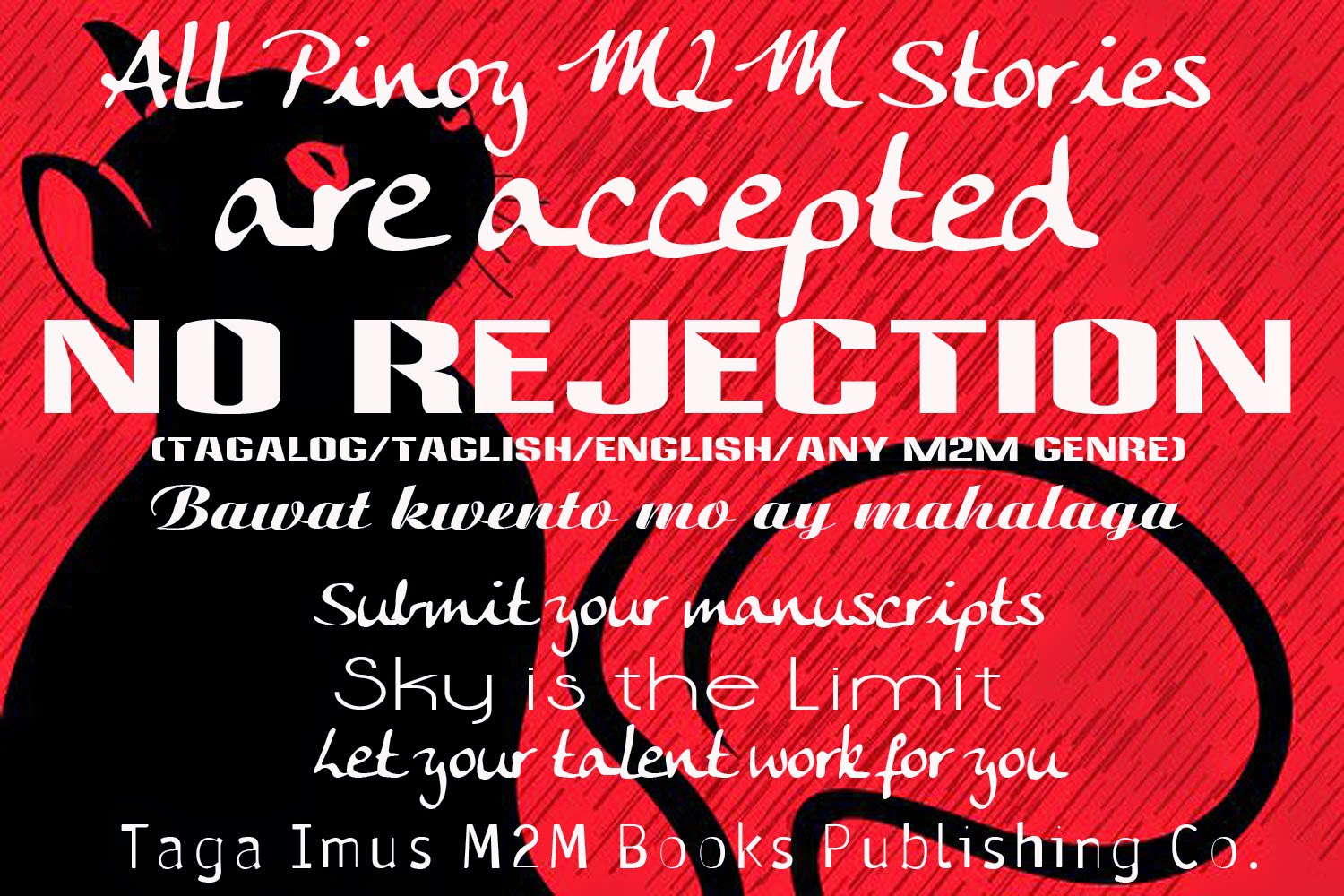 We Published Books of Pinoy M2M Genre