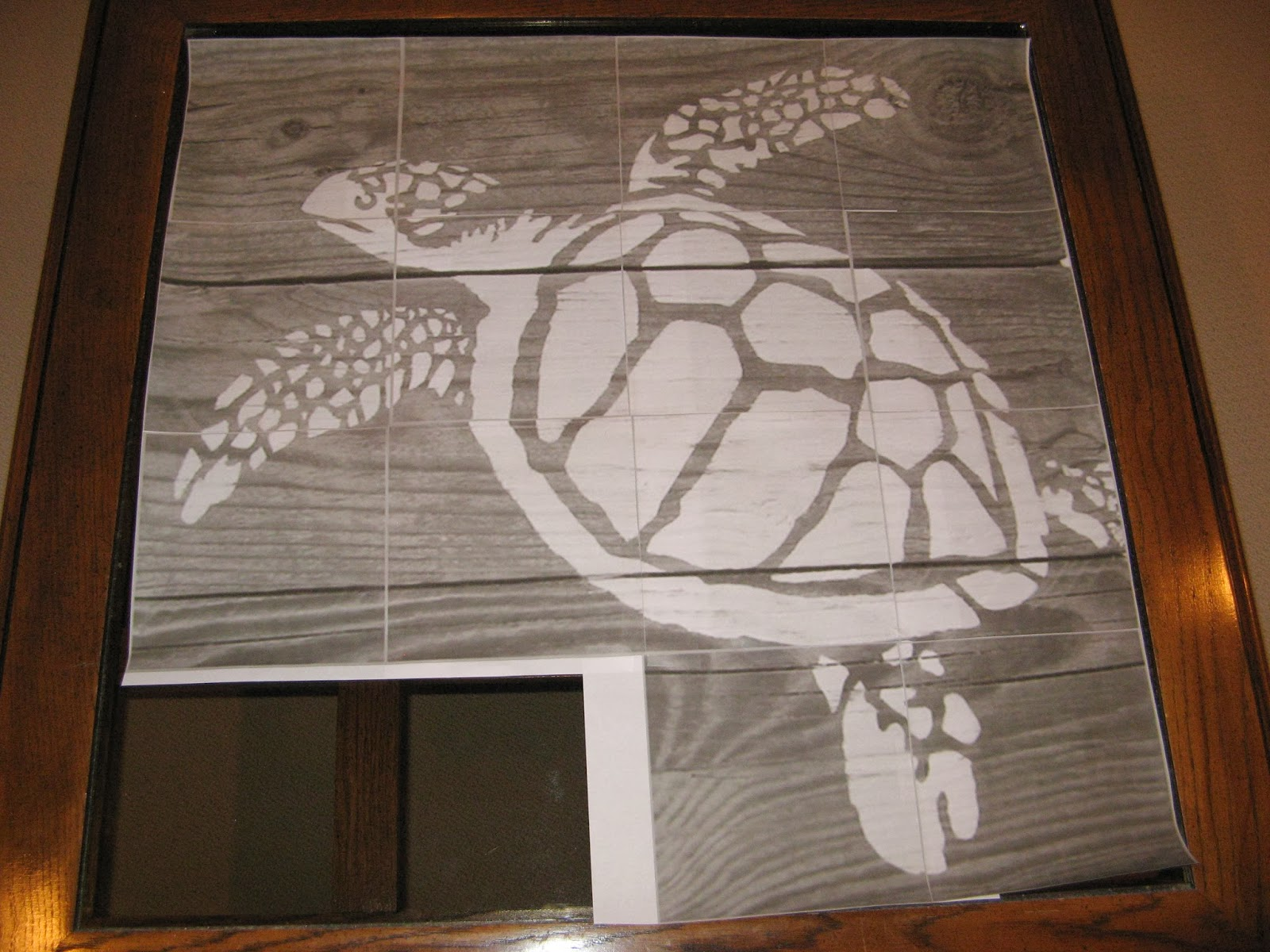 Turtle Mosaic - Template