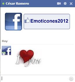 Emoticones de Amor (Corazones para el chat de FB)