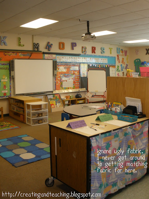 disorganized classroom