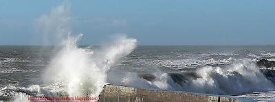 Photo de couverture facebook hd mer agitée