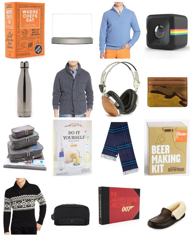Fave 'Gifts for Him' featuring Burberry, Swell, books from Phaidon, etc