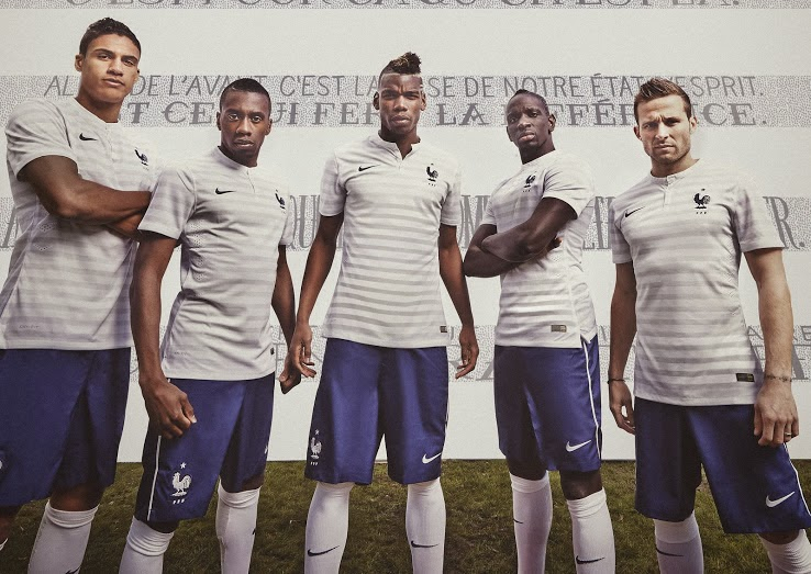 France 2014 World Cup Away kit