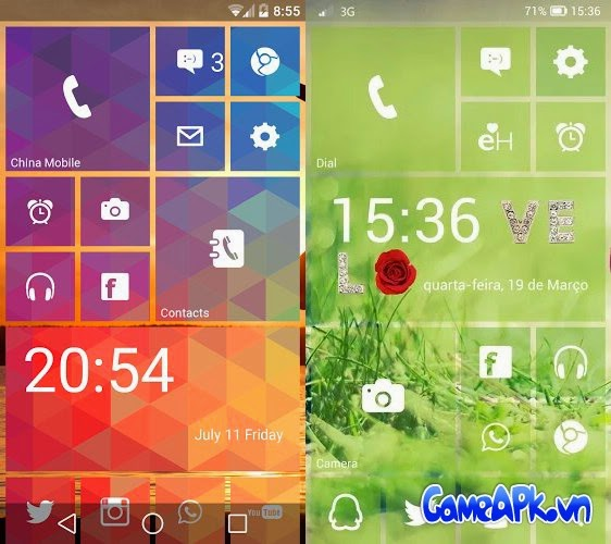LAUNCHER 8 PRO v2.6.2 Patched cho Android