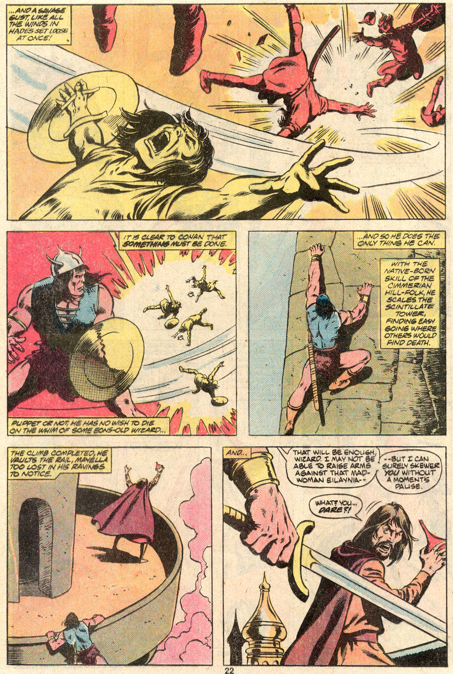 Conan the Barbarian (1970) Issue #124 #136 - English 18