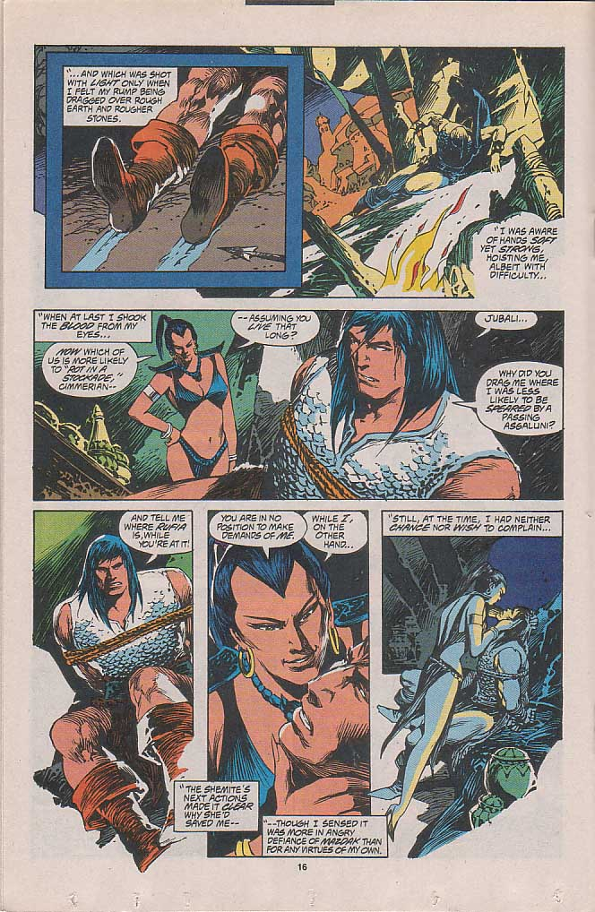 Conan the Barbarian (1970) Issue #262 #274 - English 11