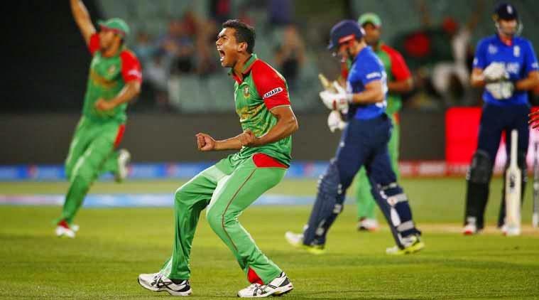 Bangladesh Stun England by 15 Runs to Enter Quarters