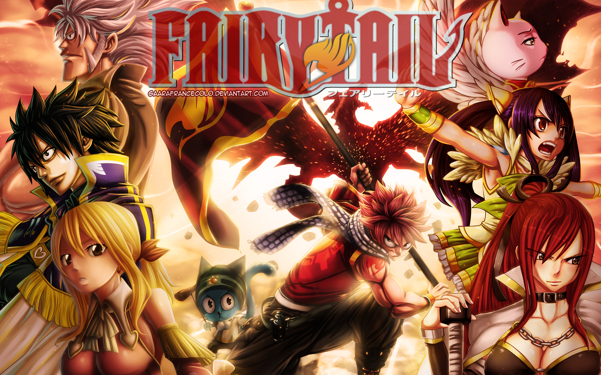 Fairy Tail Guild Anime 2n Wallpaper HD