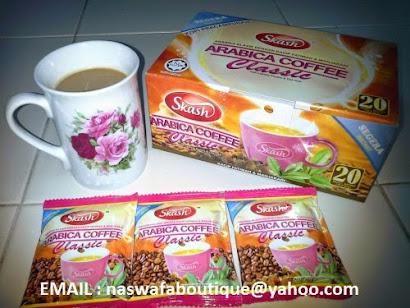 ORDER : ARABICA COFFEE CLASSIC TONGKAT ALI GINSENG