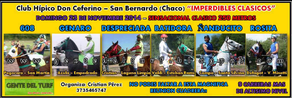 San Bernardo Mucho Mas 23-11