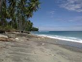 Pantai Desa waeura Kec. Waplau Kab. Buru