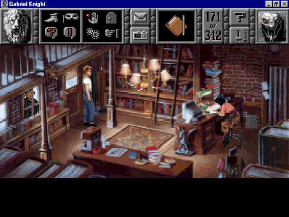 Gabriel Knight: Sins of the Fathers ScreenShot 01