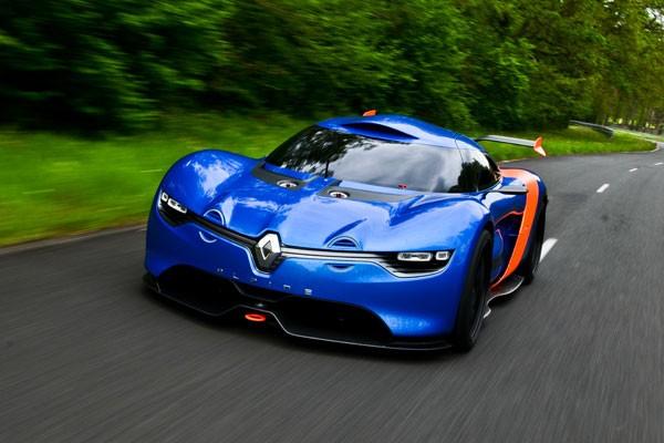 the Caterham-Renault- Alpine A110 - 50 sports car By the Société des Automobiles Alpine Caterham