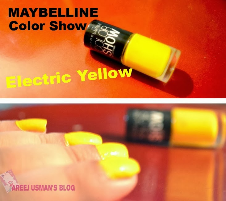 Maybelline Color Show Nail Polish Yellow