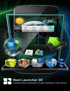 Full Version Free Download): Next Launcher 3D v2.0 .apk Premium Free