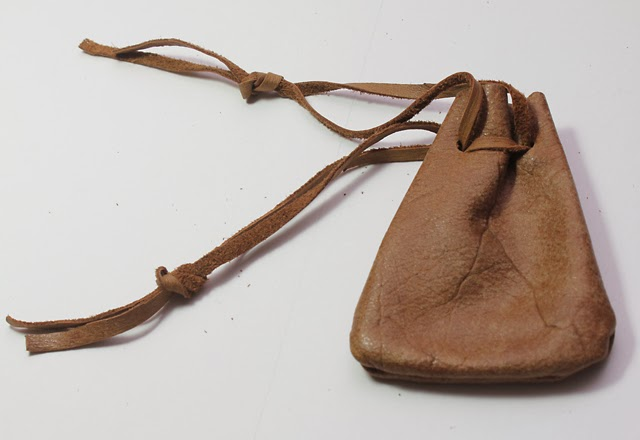 Leather Dice Pouch Prototype