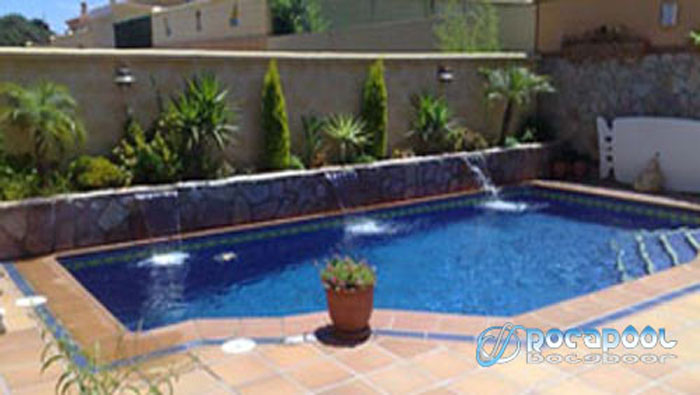 Precio de piscinas for Piscinas rectangulares