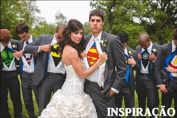 casamento com super heróis