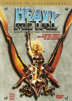 Heavy Metal - Universo em Fantasia Filmes Torrent Download capa