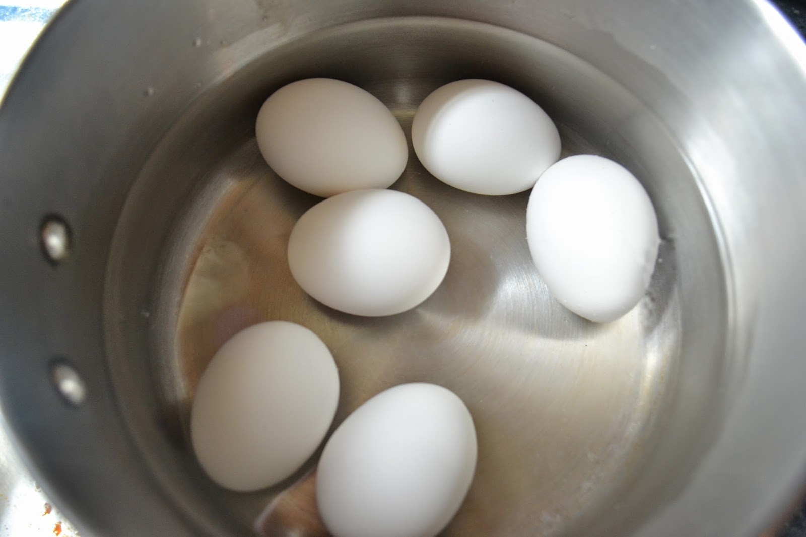 (you Can Also Pour About 1 Tablespoon Of Vinegar In Water To Stop Any Egg