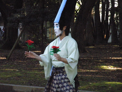 Street Performance in Ueno Park, Tokyo