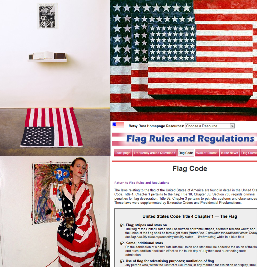 american flag etiquette wiki