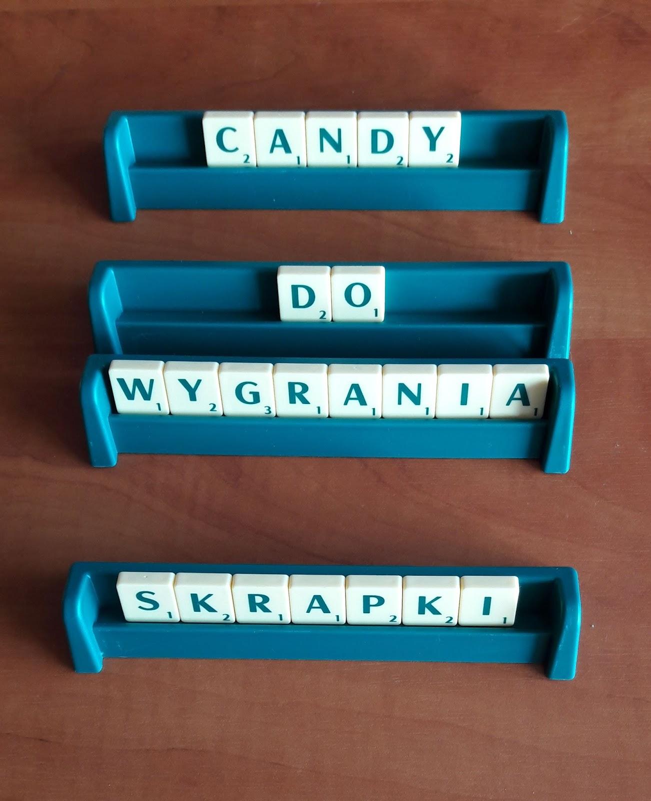Candy ze scrapkami