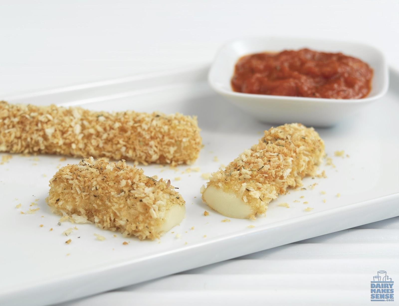 Baked Mozzarella Sticks Recipe — Dishmaps