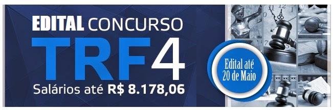 Apostila Concurso TRF4 Técnico Judiciário e Analistas - Região RS/SC/PR.
